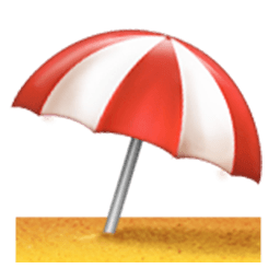 Umbrella On Ground Emoji