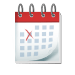 Spiral Calendar Pad