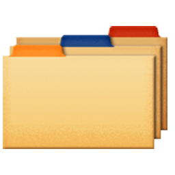 Card Index Dividers Emoji