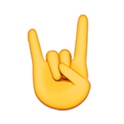 Sign Of The Horns Emoji