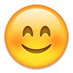 Smiling Face With Smiling Eyes Emoji