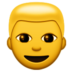 Person With Blond Hair Emoji