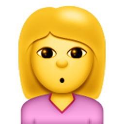 Person With Pouting Face Emoji