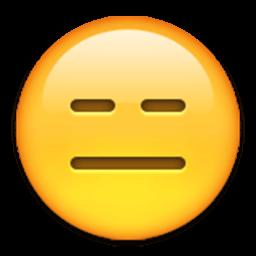 Expressionless Face Emoji