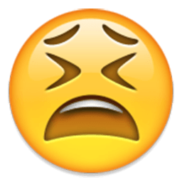 Tired Face Emoji