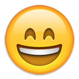 Smiling Face With Open Mouth And Smiling Eyes