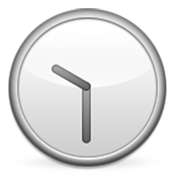 Clock Face Eleven-Thirty Emoji