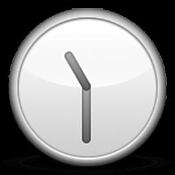 Clock Face Twelve-thirty Emoji