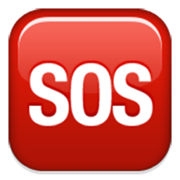 Squared Sos Emoji