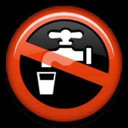 Non-Potable Water Symbol Emoji