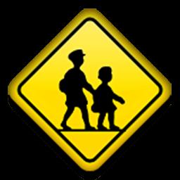 Children Crossing Emoji