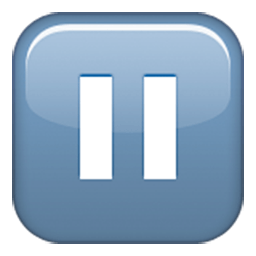 Double Vertical Bar Emoji
