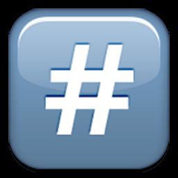 Keycap Number Sign Id 929 Emoji Co Uk