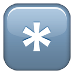 Keycap Asterisk Emoji