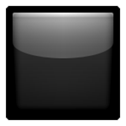 Black Large Square Emoji