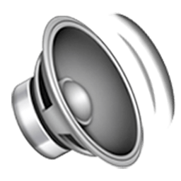 Speaker With Three Sound Waves Emoji
