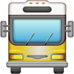 Oncoming Bus Emoji