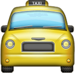 Oncoming Taxi