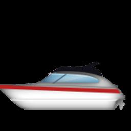Motorboat Emoji