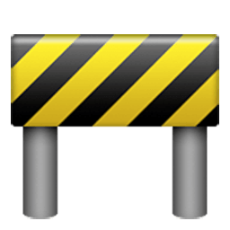 Construction Sign Emoji