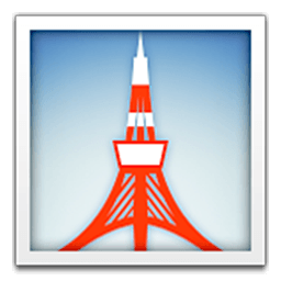Eiffel Tower Emoji Eiffel Tower Icon Emoji Co Uk
