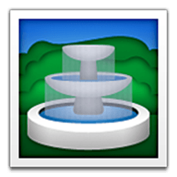 Fountain Emoji