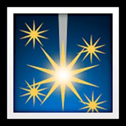 Firework Sparkler Emoji