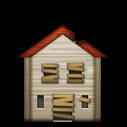 Derelict House Building Emoji
