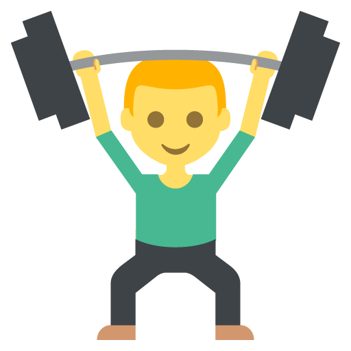 Weight Lifter Emoji