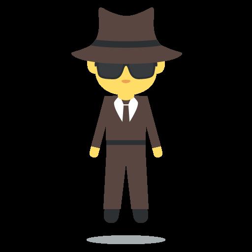 Man In Business Suit Levitating