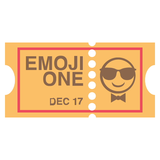 Ticket Emoji