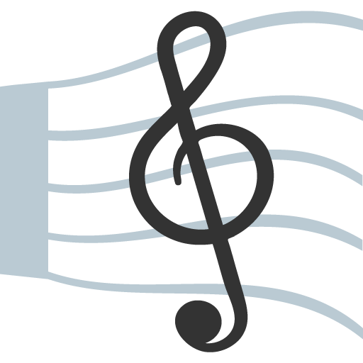 Musical Score Emoji for Facebook, Email & SMS | ID#: 1710