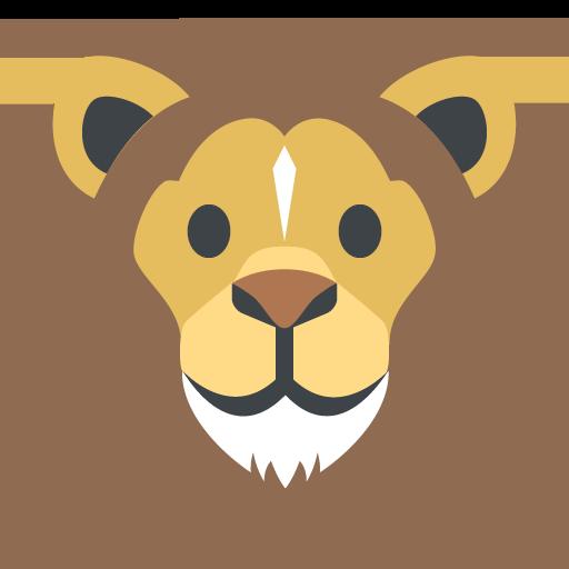 Lion Face Emoji