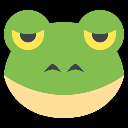 Frog Face Emoji