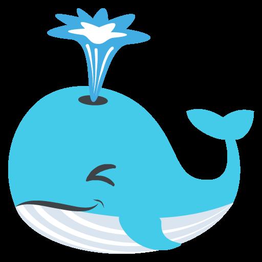 Spouting Whale Emoji