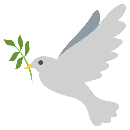 Dove Of Peace Emoji