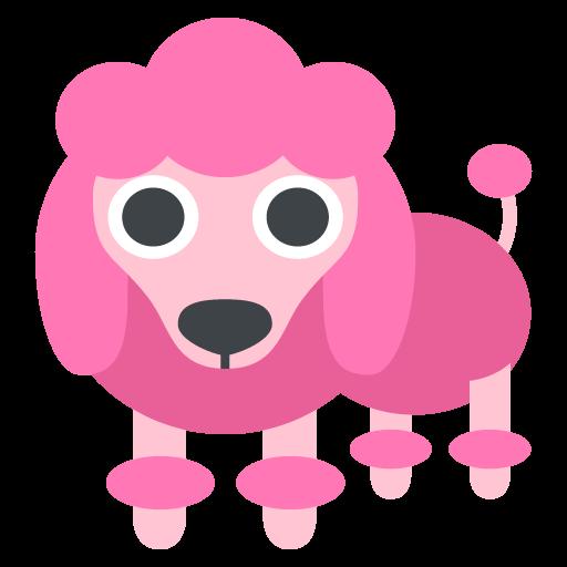 Poodle Emoji