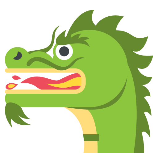 Dragon Face Emoji