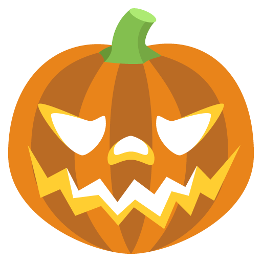 Jack-O-Lantern Emoji