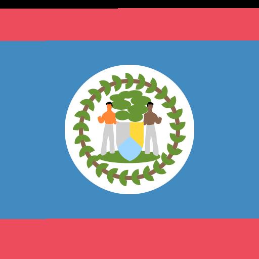 Flag Of Belize Emoji