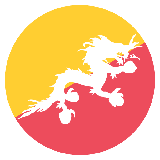 Flag Of Bhutan Emoji