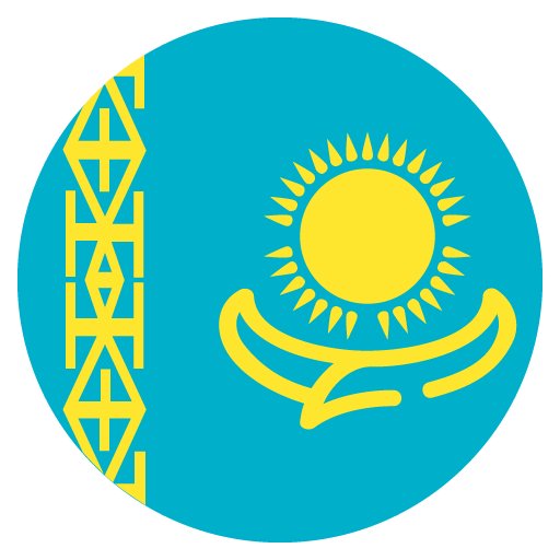 Flag Of Kazakhstan Emoji