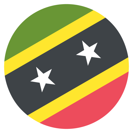 Flag Of Saint Kitts And Nevis Emoji