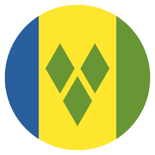 Flag Of Saint Vincent And The Grenadines Emoji for Facebook