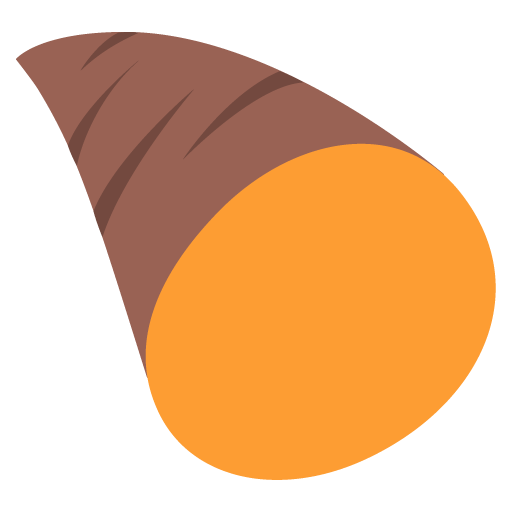 Roasted Sweet Potato Emoji