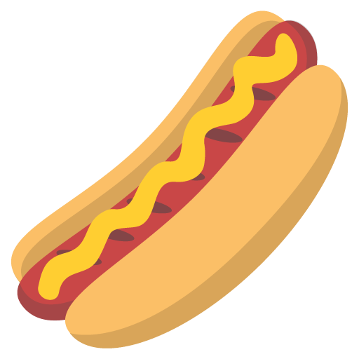 Hot Dog Emoji