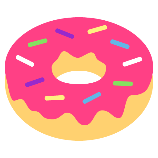 doughnut emoji for facebook  email   sms id 1652 donut clipart donut clipart for weddings