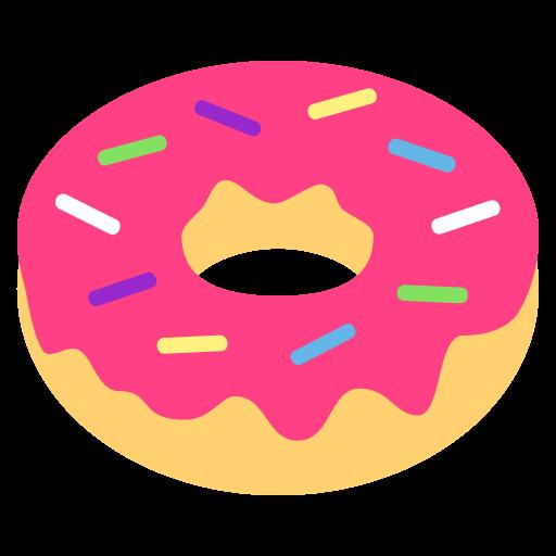 doughnut emoji for facebook  email   sms id 1652 donut clipart for weddings doughnut clip art border