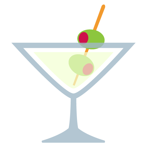 Cocktail Glass Emoji