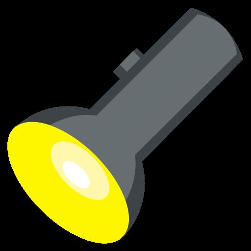 Electric Torch Emoji